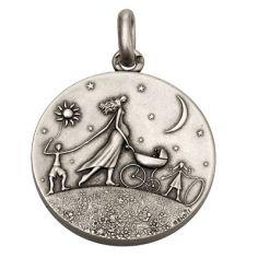 Grande Médaille Ronde de la vie (argent 950°)
