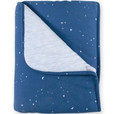 Couverture constellations Stary bleu jean (75 x 100 cm)  par Bemini