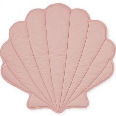 Tapis de jeu coquillage rose