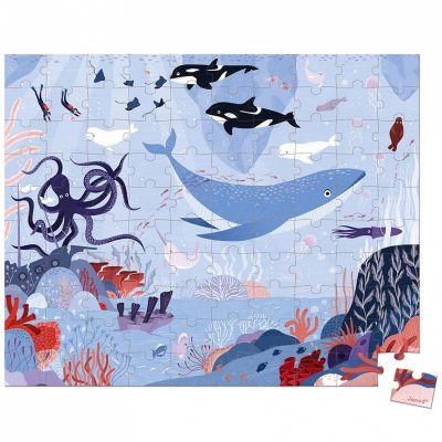 Mallette puzzle Océan Arctique (100 pièces)  par Janod