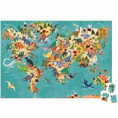 Puzzle éducatif géant Les dinosaures (200 pièces)