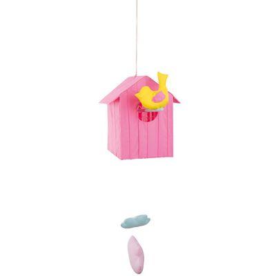 Cabane volante rose (50 cm)  par L'oiseau bateau