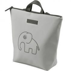 Sac à dos enfant imperméable Elphee éléphant gris