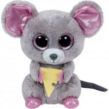 Peluche Beanie Boo's Squeaker la souris (15 cm)  par Ty