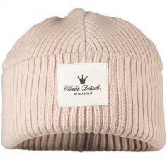 Bonnet en laine Powder Pink (1-2 ans)