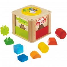 Boîte à formes Les animaux du zoo