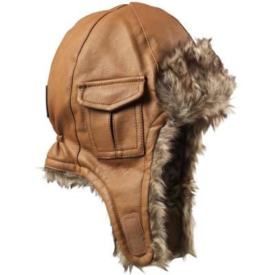 bonnet shapka chestnut leather 6 12 mois elodie details. Black Bedroom Furniture Sets. Home Design Ideas