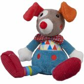 Peluche Gustave le clown Magic Circus (26 cm) - Ebulobo