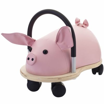 Porteur Wheely Bug cochon (Petit modèle) Wheely Bug