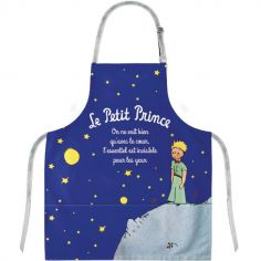 Tablier Le Petit Prince nuit étoilée