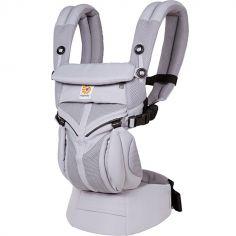 Porte bébé Omni 360 Cool Air Mesh gris lilas