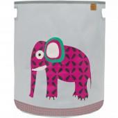 Panier à jouets Wildlife Eléphant (40 x 48 cm) - Lässig