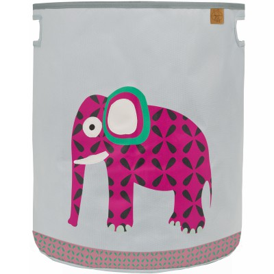Panier à jouets Wildlife Eléphant (40 x 48 cm)  par Lässig