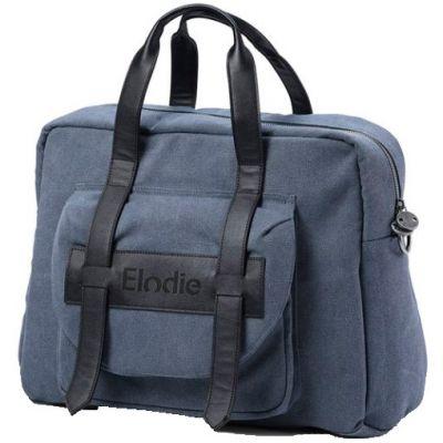 Sac à langer à anses Signature bleu Juniper Blue  par Elodie Details