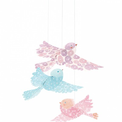 Mobile Oiseaux paillettes  par Djeco