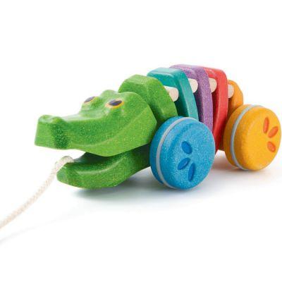 Alligator à tirer PlanWood  par Plan Toys