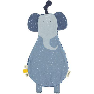 Doudou plat velours Mrs. Elephant  par Trixie