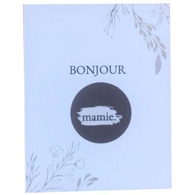 Carte annonce de grossesse à gratter Bonjour Mamie (8 x 10 cm)  par Les Boudeurs