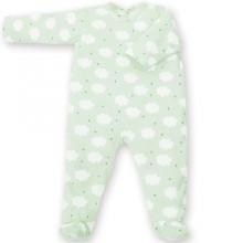 Grenouillère Milky aladin jersey mint (0-3 mois : 50 à 60 cm)  par Bemini