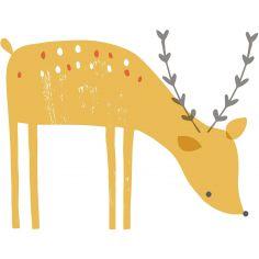 Sticker faon Woodland by Lizzie Mackay