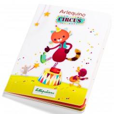 Livre multi-combinaisons Arlequino circus