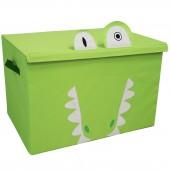 Coffre à jouet caisse de rangement Aligatos l'Alligator - Les Déglingos