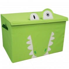 Coffre à jouet caisse de rangement Aligatos l'Alligator
