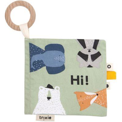 Livre bébé en tissu Animaux Trixie