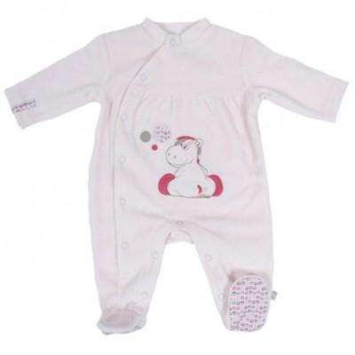 Pyjama chaud funny Lucie (1 mois : 56 cm)  par Noukie's
