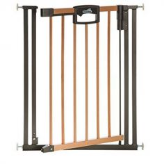 Barrière Easy Lock Wood Plus (80 à 88 cm)