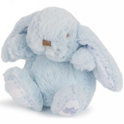 Peluche Augustin le lapin bleu ciel (12 cm) Tartine et Chocolat