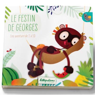 Livre premier âge Le festin de Georges  par Lilliputiens