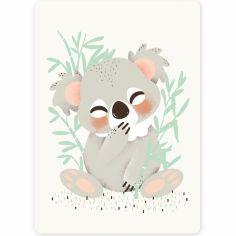 Carte A6 Les Animignons le koala