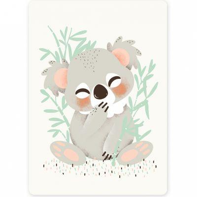 Carte A6 Les Animignons le koala  par Kanzilue