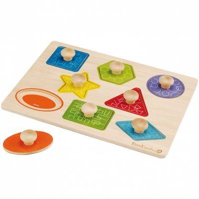 Puzzle à formes avec poignées  par EverEarth