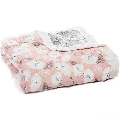 Couverture de rêve Dream Blanket Pretty petals soft petals (120 x 120 cm)  par aden + anais