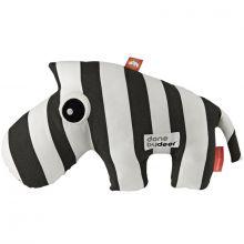 Peluche Zeebee le zèbre noir (33 cm)  par Done by Deer