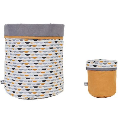 Lot de 2 paniers de toilette Honeymoon  par BB & Co