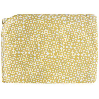 Couverture en coton jaune Diabolo (75 x 100 cm)  par Trixie