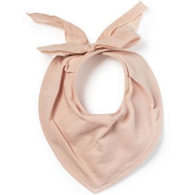 Bavoir bandana Powder Pink  par Elodie Details