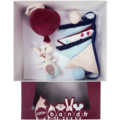 Coffret peluche musicale lapin Balloons Company Little Band