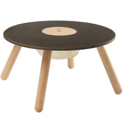 Table de dessin en hévéa avec rangement  par Plan Toys