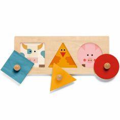 Puzzle à encastrement FormaBasic (3 pièces)