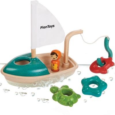 Bateau de pêche  par Plan Toys