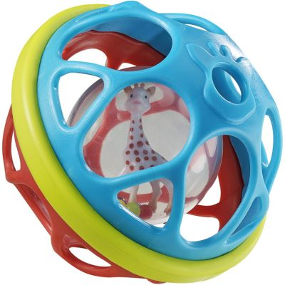Balle d'activités Soft'ball Sophie la girafe Fresh Touch  par Sophie la girafe
