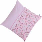 Coussin carré Pink blossom (40 x 40 cm) - Little Dutch