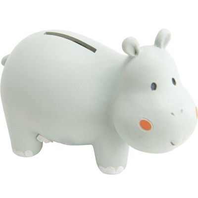 Tirelire Sam l'hippopotame (13 cm)  par Amadeus Les Petits