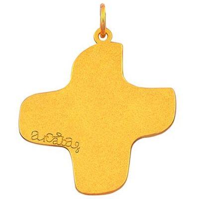 Bijou croix et anneau (or jaune 18 carats)  par Maison La Couronne