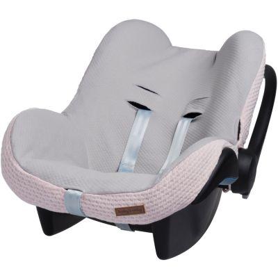 Housse pour siège auto groupe 0+ rose Cloud  par Baby's Only