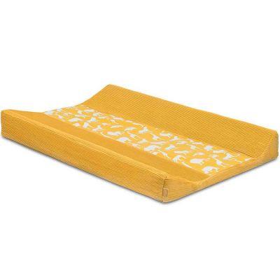 Housse de matelas à langer Safari jaune (50 x 70 cm)